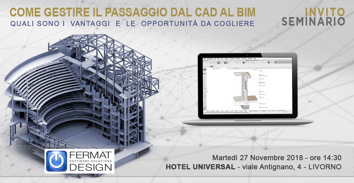 Dal CAD al BIM - Livorno