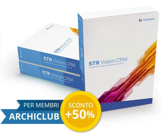 STR Vision CPM in sconto al 75%