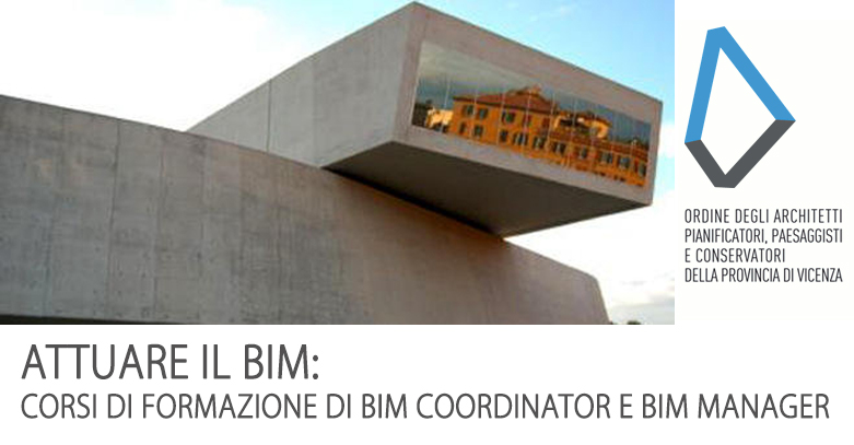 Corsi BIM Coordinator e Manager